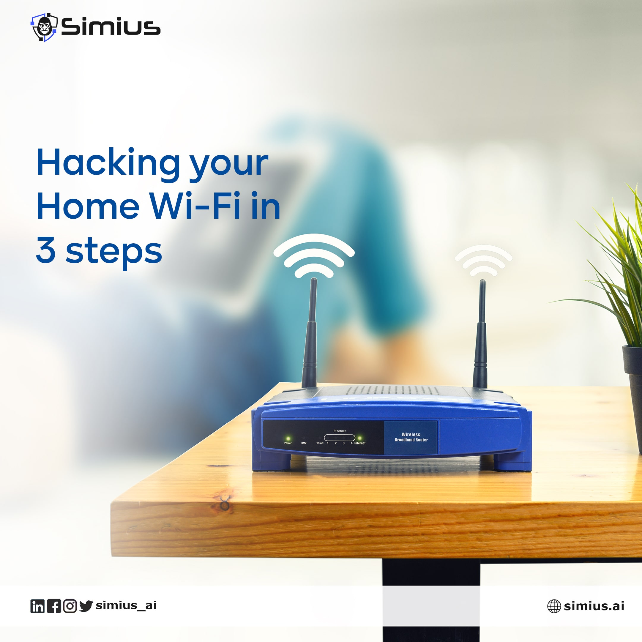 Hacking your Home Wi-Fi in 3 steps